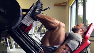 PHIL HEATH Full Hamstrings Workout - Road To 2018 Mr. Olympia