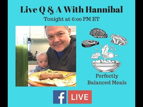 Perfectly Balanced Meal Plan For Weight Loss -- Live Q & A!!