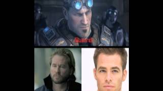Gears of War Movie Cast Predictions