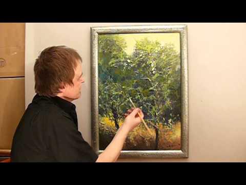 Jak Namalować Obraz Farbami Akrylowymi Drzewa 2 Cz 2 Vlog 150