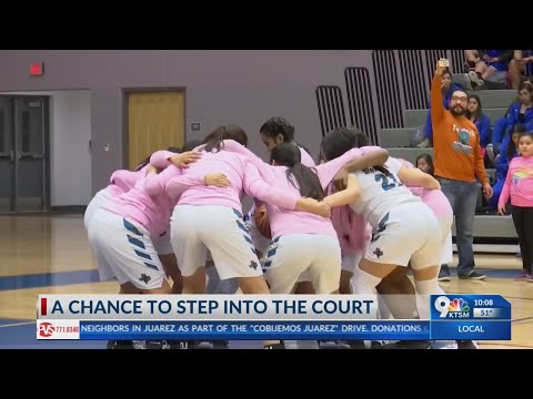 Disabled Pebble Hills High School student lives dream, plays basketball game
