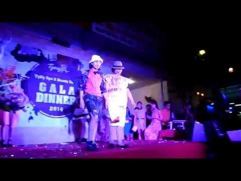 TyMy Spa - Thời trang giấy l Gala Dinner 20/10/2014