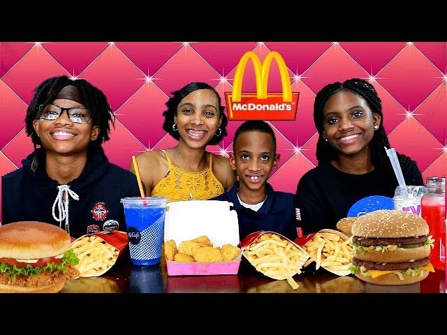 Our Favorite Food From Mcdonalds Mukbang Teen Eating Show
