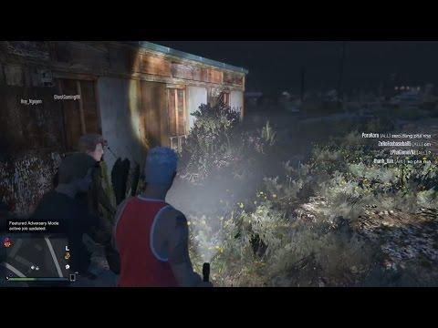 GTA 5 Online - Khám phá Ngôi nhà bị bỏ hoang & Đi tìm hồn ma bí ẩn