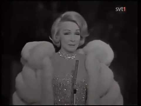 Marlene Dietrich live in Stockholm