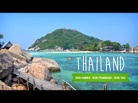 Thailand Backpacking Trip 2015 - Koh Samui, Koh Phangan, Koh Tao