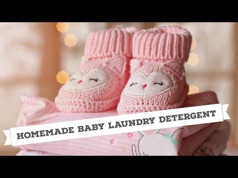 DIY Baby Detergent - YouTube