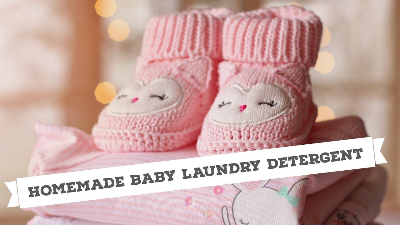 DIY Baby Detergent