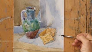Уроки рисования. Акварель (16.10.2015)