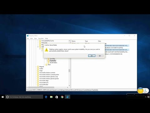 How to fix system icon not showing or missing in taskbar in windows 10 #computerrepair #techtip