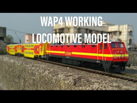 WAP4 locomotive - Indian train model