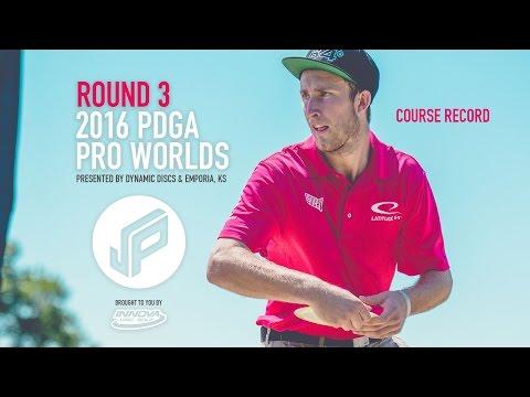 2016 PDGA Pro Worlds Round 3 | Wysocki,McBeth,Locastro,Owens