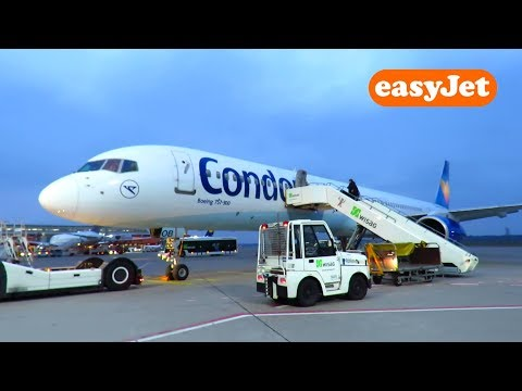 TRIP REPORT | Condor 757-300 (for Easyjet) | Berlin Tegel to Munich | NEW ROUTE!