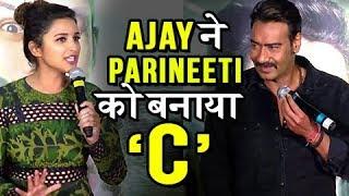 अजय ने बनाया परिणीति को CH****| Parineeti Chopra REACTS On Ajay Devgn's PRANK On Golmaal Again Sets