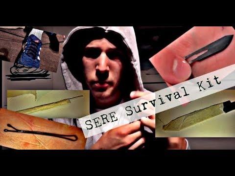 Survival Kit / SERE Survival Kit / Ausrüstung in der Kleidung verstecken...