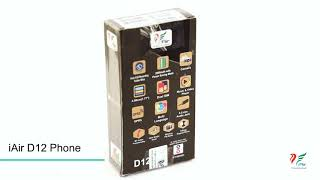 iAir D12 Feature Phone 360 Degree View.