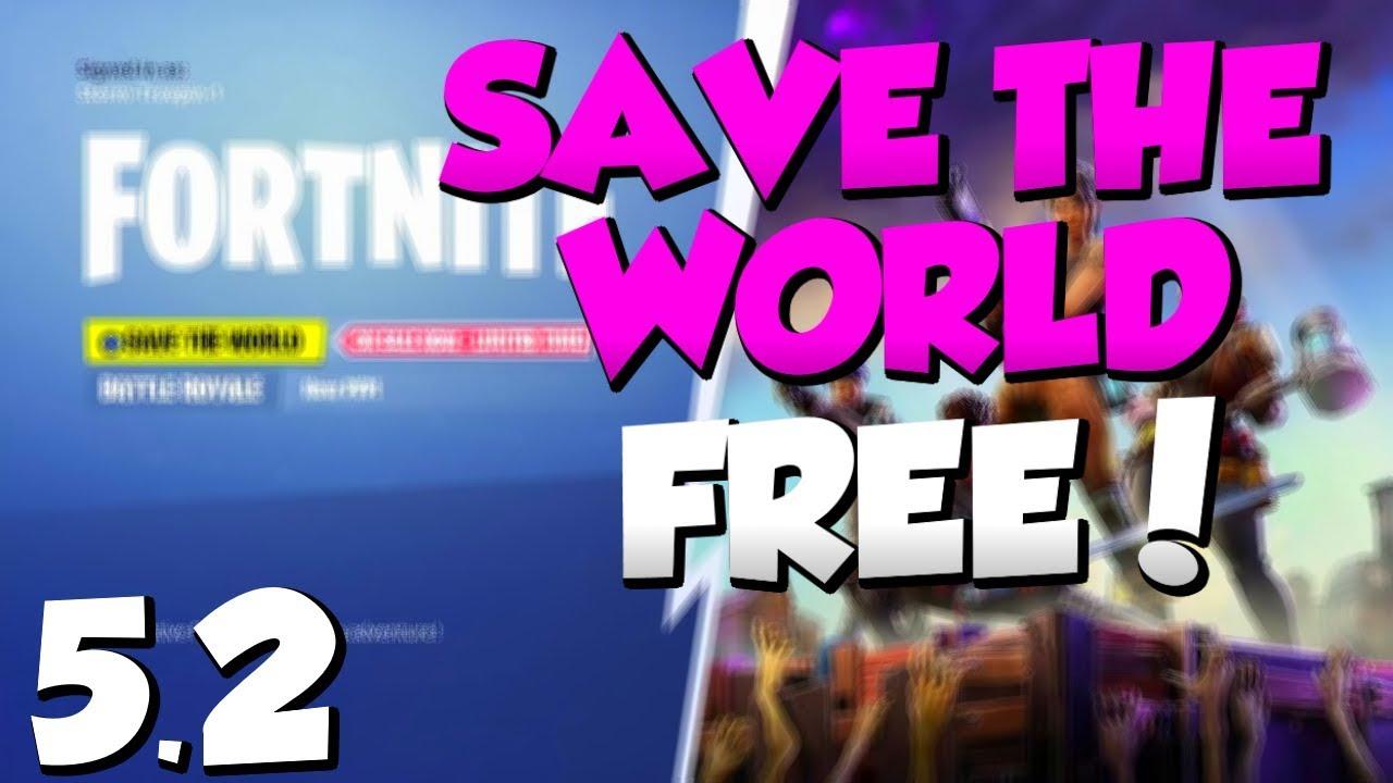 *NEW* Fortnite SAVE THE WORLD FREE GLITCH 5.20! Save The ...
