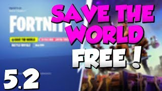 'NEW' Fortnite SAVE THE WORLD FREE GLITCH 5.20! Save The World Mise à jour GRATUITE 5.20