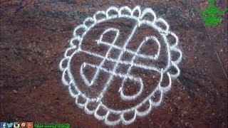 4x4 dots rangoli,learn easy rangoli designs,simple rangoli art,chukki rangoli,kolam moggulu rangoli