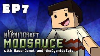 "Minecraft - ModSauce: Ep 7 ""Rest In Pieces My Friend"" w/TheCyaNideEPiC"
