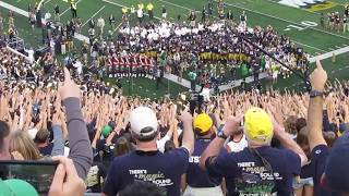 Notre Dame Alma Mater - After the Temple Game 9-2-17
