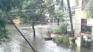 Rescue Boats In Manapakkam During Chennai Floods