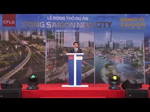 CFLD Việt Nam - Động thổ dự án Đông Sai gòn Swan Park