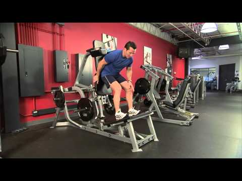 Hammer Strength Plate-Loaded V Squat Instructions