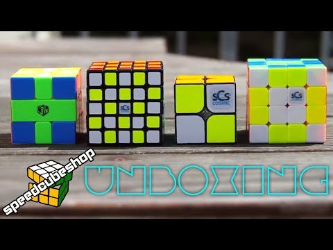 Cosmic Cubes Unboxing | SpeedCubeShop