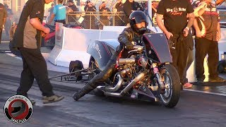 2018 Rocky Mountain Nationals Part 22 - Pro Fuel and Nitro Harley Final Qualifying