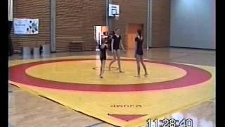 AKRO2007 Grade 1 - Johanna, Tea ja Eva Mari - OMAtsirkus - III kaamera