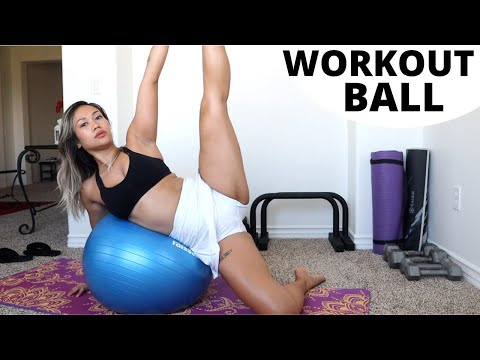 YOGA WORKOUT BALL