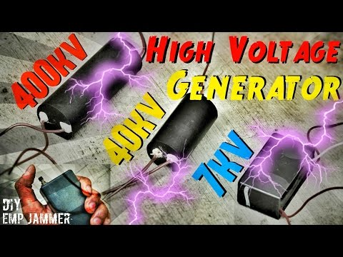 High Voltage Generator Comparison For Emp Jammer Generator Emp Weapon
