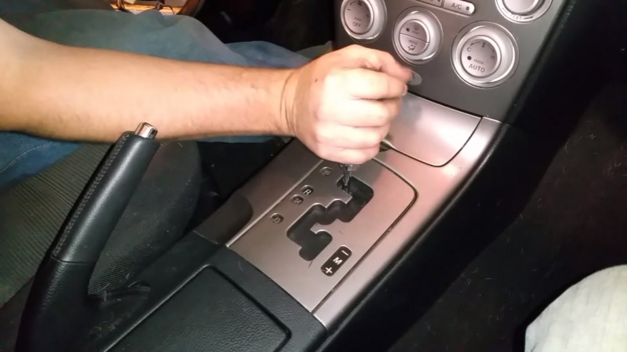 2003 mazda 6 manual transmission removal