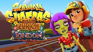 Subway Surfers ZURICH vs LONDON Android Gameplay #1