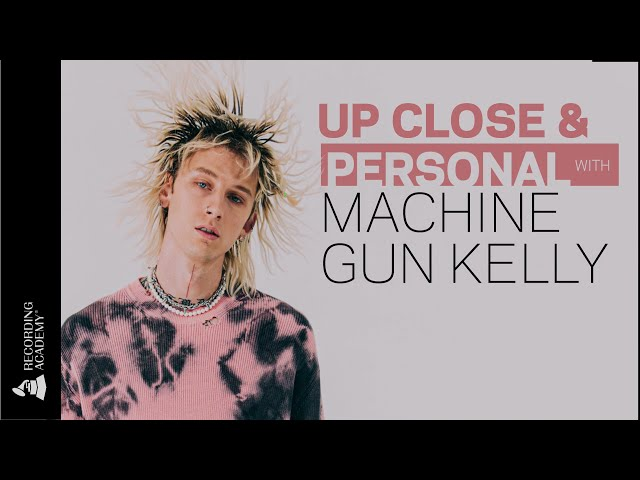 Machine Gun Kelly Talks Travis Barker And Influencing The Next Decade Of Music   Up Close & Personal