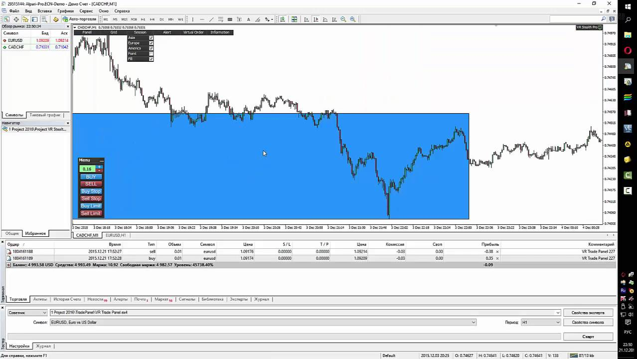 Download The Vr Stealth Pro Trading Utility For Metatrader 4 In