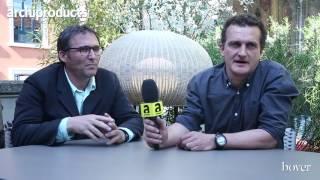 Archiproducts Milano 2017 | BOVER - Alex Fernandez Camps e Gonzalo Milà con Fora, Garota ed Amphora