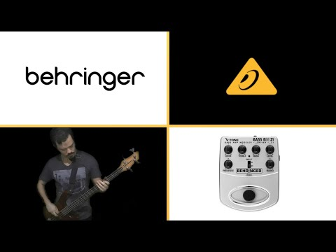 Review Bass Pedal Distortion V Tone Behringer BDI 21 ( english subtitles )
