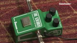 sweetwater s ibanez ts808 35th anniversary overdrive pedal review