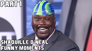 Shaquille O'Neal FUNNY MOMENTS - Part 1