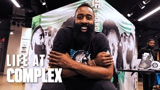 Living A Day In The Life Of James Harden! | #LIFEATCOMPLEX