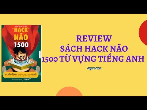 sách hack não 1500 từ vựng tiếng anh pdf - Review Sách Hack não 1500 từ vựng Tiếng Anh