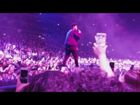 The Weeknd - Legend Of The Fall Concert Intro - Starboy, Party Monster, Reminder (Live 1080p)