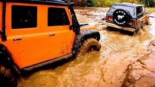TRX-4 Extreme Muddy Trail Run!   Traxxas