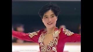 八木沼純子 Junko Yaginuma 1991 NHK Trophy - Free Skating 八木沼純子 検索動画 9