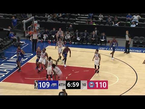 Alan Williams Posts 26 points & 14 rebounds vs. Capital City GoGo