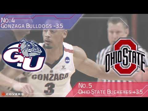 March Madness Betting Breakdown: No. 4 Gonzaga vs. No. 5 Ohio State