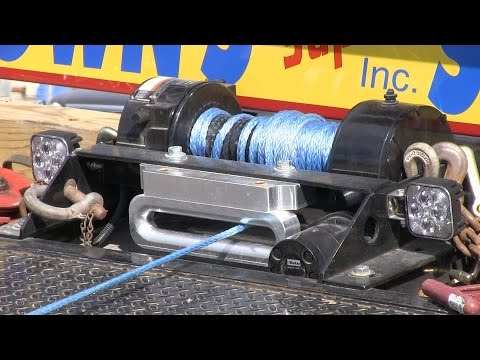 New Rollback Wrecker Fairlead by Custom Splice