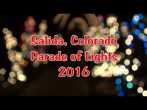 Salida Colorado Parade of Lights 2016